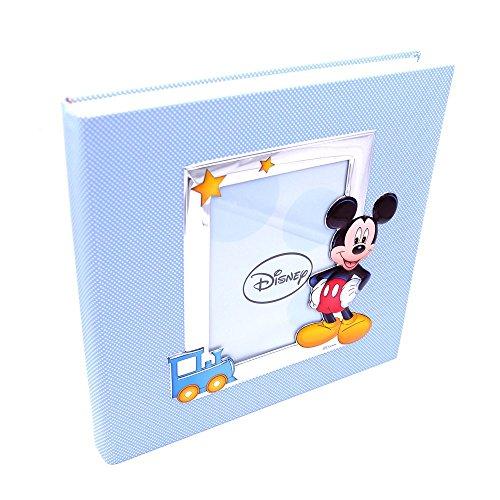 Valenti&co_album dipinto con tecnica 3d_argento_mickey mouse_disney_30x30