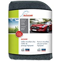 ALCLEAR 822203H 822203hif anti-hologrammes for Cars/Bikes/Boats Cleaning Cloth 40x 40cm Grey - ukpricecomparsion.eu