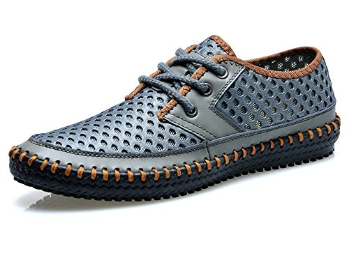 Bifini, Homens Aqua Sapatos Cinza