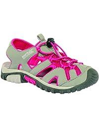 Regatta Girls Deckside Junior Walking Sandals RKF413 Grey