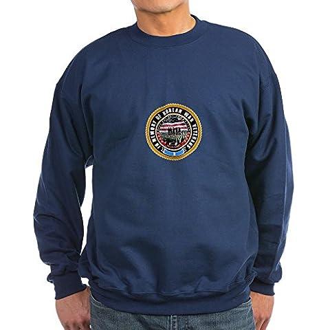 CafePress - Korean War Veterans Sweatshirt (Dark) - Classic Crew