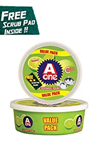 Dishwash Round Bar - 500 gms (5-in-1 Pack)