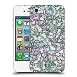 Head Case Designs Jade Adern Schimmerndes Marmor Ruckseite Hülle für iPhone 4 / iPhone 4S