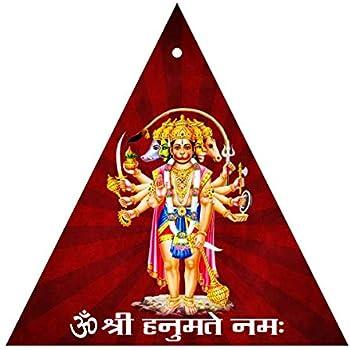 Buy Mohan Jodero Elegant Brass Lord Panchmukhi Hanuman