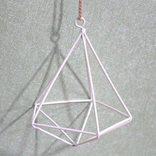 Nwn Blumentopf-Zahnstange, Blumen-Zahnstange Moderne Stilvolle Eisen-Kunst-Geometrische...