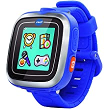 "VTech Kidizoom Plus - SmartWatch infantil (128 MB, pantalla de 1.44"", resolution:128 x 128 pixeles), color azul - versión inglesa"