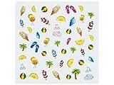 Nailart Sticker Sun and Fun 02