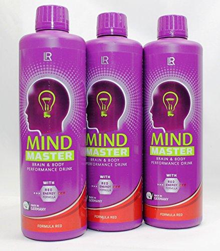 LR Mind Master Brain & Body Performance Drink Formula Red 3er Set, by Multi-Markt24 (Multi Vitamin Mit Eisen Flüssig)