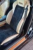 Leibersperger Felle Autositzbezug Autositzauflage Premium aus Lammfell Sitzbreite 40cm (Schiefer)