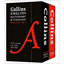 Collins English Dictionary and Thesaurus Boxed Set: All the words you need, every day