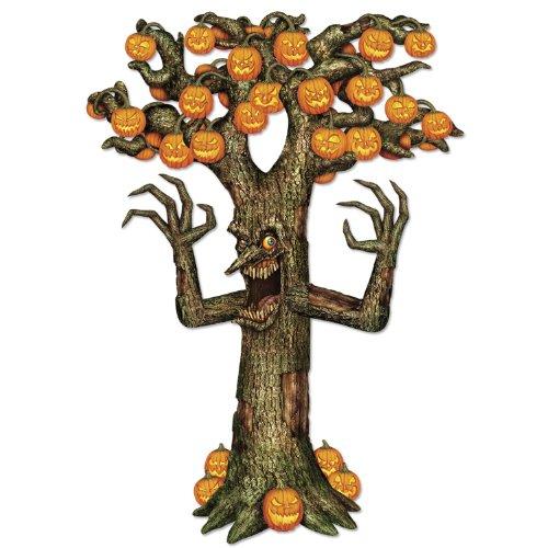 Beistle Gelenk Spooky Baum, druckknopfstiel