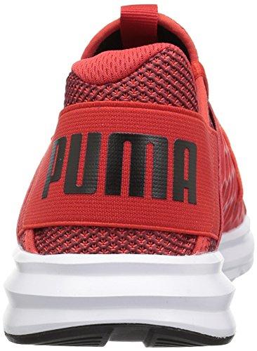 Puma Herren Enzo NF Schuhe Flame Scarlet/Quiet Shade/Puma Black