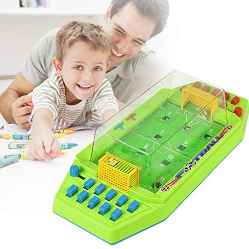 VICKY-HOHO Spielset, lustige Tischfußball Interaktives Spielzeug Hoop Net Ball Pump Spielset für Kinder (wie Gezeigt)
