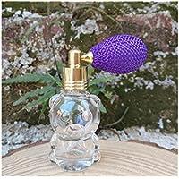 Maquillaje Botella de viaje de la forma del oso botella vacía del tamaño del viaje de la botella del globo de la belleza del perfume (color al azar 8ML) Almacenamiento