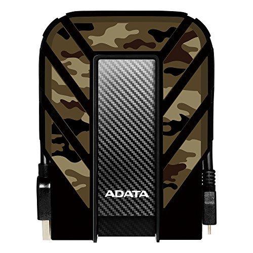 ADATA HD710M Pro 2TB Military-Grade Shockproof External Hard Drive (AHD710MP-2TU31-CCF, Camouflage)