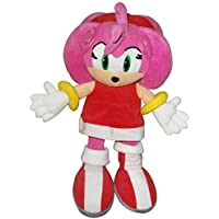 Sonic The Hedgehog - Peluche de Amy de 30 cm, color rosa