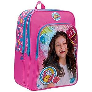 51qDNO3J4gL. SS300  - Disney Luna Star Mochila Escolar, 40 cm, 21.12 Litros, Rosa