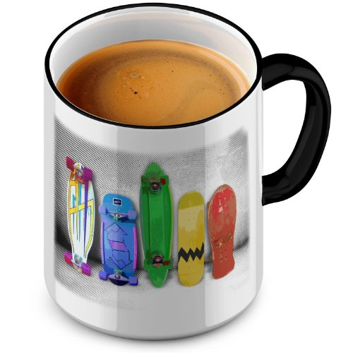 FunTasstic Tasse Skating Evolution Tasse Kaffeepott by StyloTex
