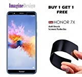 WOW Imagine Tempered Glass For Honor With Unbreakable Nano Film Glass Screen Protector for Huawei Honor 7X