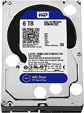 WD Blue 6TB Interne Festplatte (8,9 cm (3,5 Zoll)), SATA 6 Gb/s Bulk WD60EZRZ