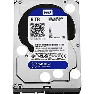 Western Digital Blue WD60EZRZ Disque Dur Interne 6 To SATA 600 Argent