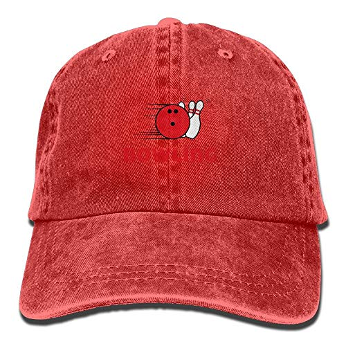Bowling Exercise Unisex Washed Adjustable Fashion Cowboy Hat Denim Baseball Caps Bio Washed Cap