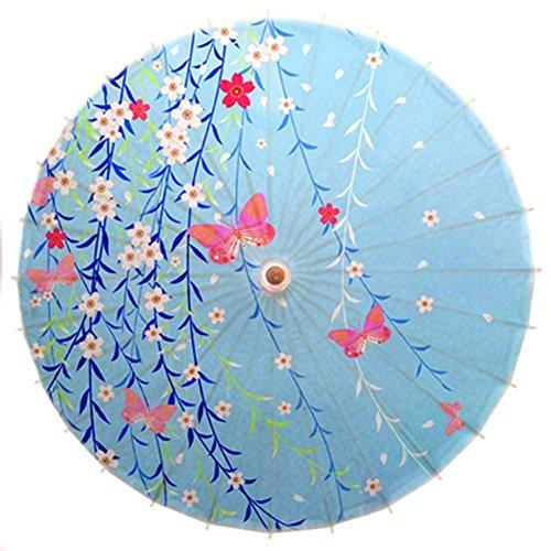 Black Temptation Nicht-wasserdicht handgemachte japanische Öl Papier Regenschirm Restaurant dekoriert Regenschirm #8