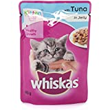 Whiskas Kitten Cat Food, Tuna In Gravy, 85 G (Pack Of 20)