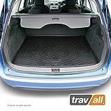 Travall® Liner Kofferraumwanne TBM1008 - Maßgeschneiderte Gepäckraumeinlage mit Anti-Rutsch-Beschichtung