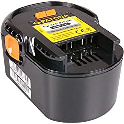 Batterie B1420R Ni-MH 3000mAh 14.4V pour AEG BBM 14 STX-R | BS 14 X | BS 14 XN | BS 14 X-R | BS 14G | BS14 GNC | BSB 14 G | BSB 14 STX | BSB 14 STXN | BSB 14 STX-R | Bss 14 | FL 14