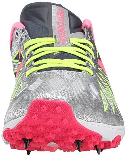 New Balance Women's WXC5000 XC Spikes Running Shoe Black/Pink Zing/Hi-Lite
