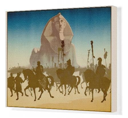 Canvas Print Of Sphinx - Roman Era
