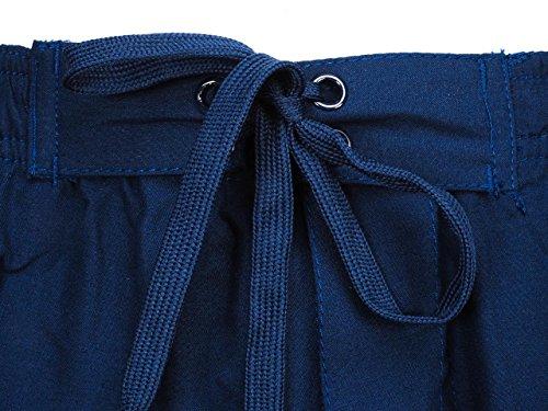 Culture sud - Odeon marine - Short de bain Bleu marine / bleu nuit