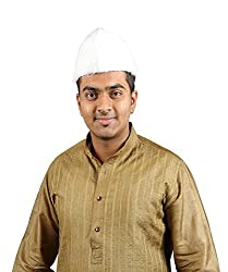 eKolhapuri Traditional Handstitched Ready To Wear Typical Maharashtrain Fur Topi (Turban Safa) for Men