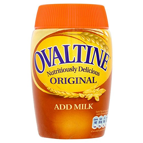 Ovomaltine - Boisson maltée originale - lot de 2 pots de 300 g
