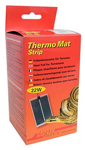 Lucky Reptile HTMS-22 Thermo Mat Strip 22 W, Heizmatte für Terrarien