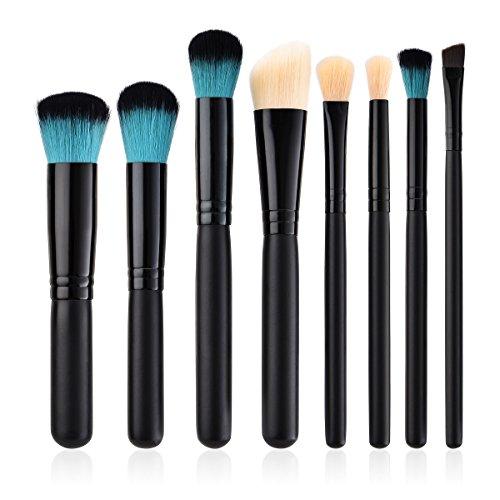 Watopi 8PCS Pinceau Maquillage Cosmétique Pinceau Pinceau Ombre À Paupières