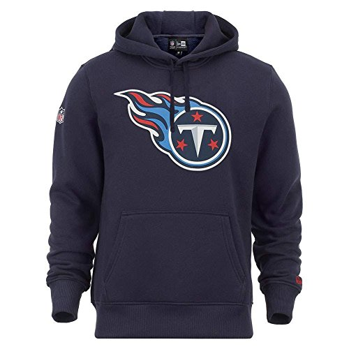 New Era Herren Kapuzenpullover NFL Tennessee Titans Hoodie Obsadian, L