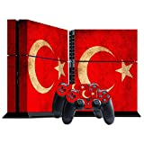 Morbuy PS4 Skin Vinyl Autocollant Decal Sticker pour Playstation 4 console + 2...