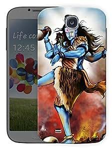 "Humor Gang Shiva Tandav - Hindu God Printed Designer Mobile Back Cover For ""Samsung Galaxy S4 Mini"" (3D, Matte Finish, Premium Quality, Protective Snap On Slim Hard Phone Case, Multi Color)"
