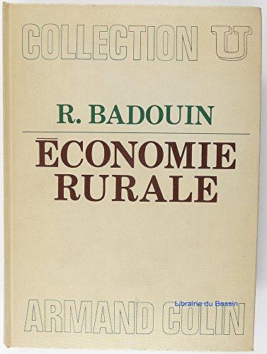 Economie rurale