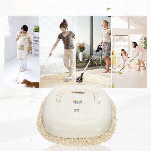 Supermall Imported Automatic Full Wet & Dry Floor Mopping Robotic Vacuum Cleaner with Robot Microfiber Mop Dust Cleaning, Multi-color  available at amazon for Rs.2949