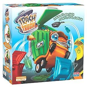 Falomir Trash Truck. Juego de Mesa. Habilidad, Multicolor (1)