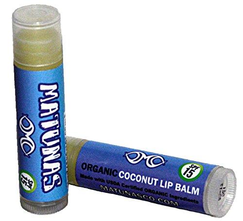Matunas SPF 15+ Kokosnuss Lippenbalsam (Lippenpflege Kokosnuss)
