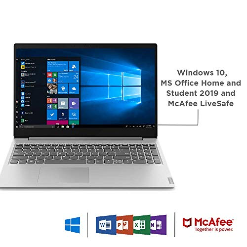 Lenovo Ideapad S145 AMD A6-9225 15.6-inch HD Thin and Light Laptop ( 4GB RAM / 1TB HDD / Windows 10 Home / Office Home and Student 2019 / Grey / 1.85kg ), 81N3004DIN Image 6