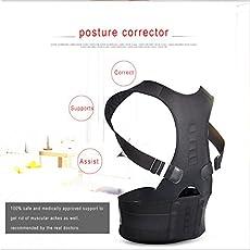 Shopystore Aptoco 2Pcs Male Corset For Magnetic Posture Corrector Men Back Brace