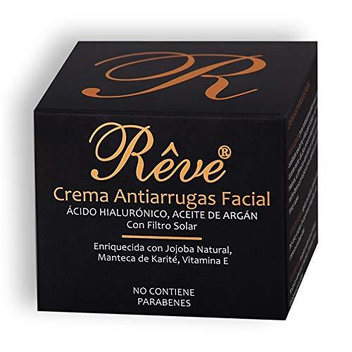 REVE Crema Antiarrugas Facial Argan ¡cido Hialurónico