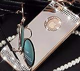 Coque Iphone 4 4S Luxe Miroir Diamant Coloris Or Etui Housse Bumper Apple