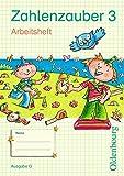 Zahlenzauber - Ausgabe G für Baden-Württemberg, Hessen, Rheinland-Pfalz und Saarland - 2010: 3. Schuljahr - Arbeitsheft mit eingelegtem Lösungsheft