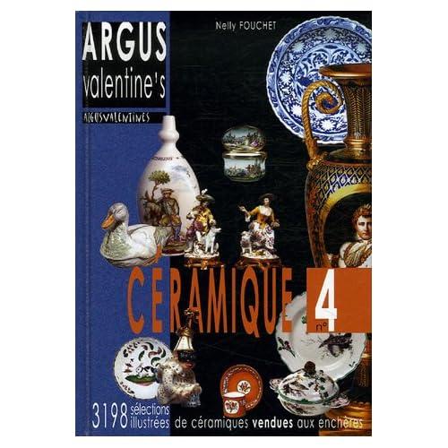 Argus Valentine's céramique, n°4: sélection de 3198 résultats de ventes aux enchères 2004-2006